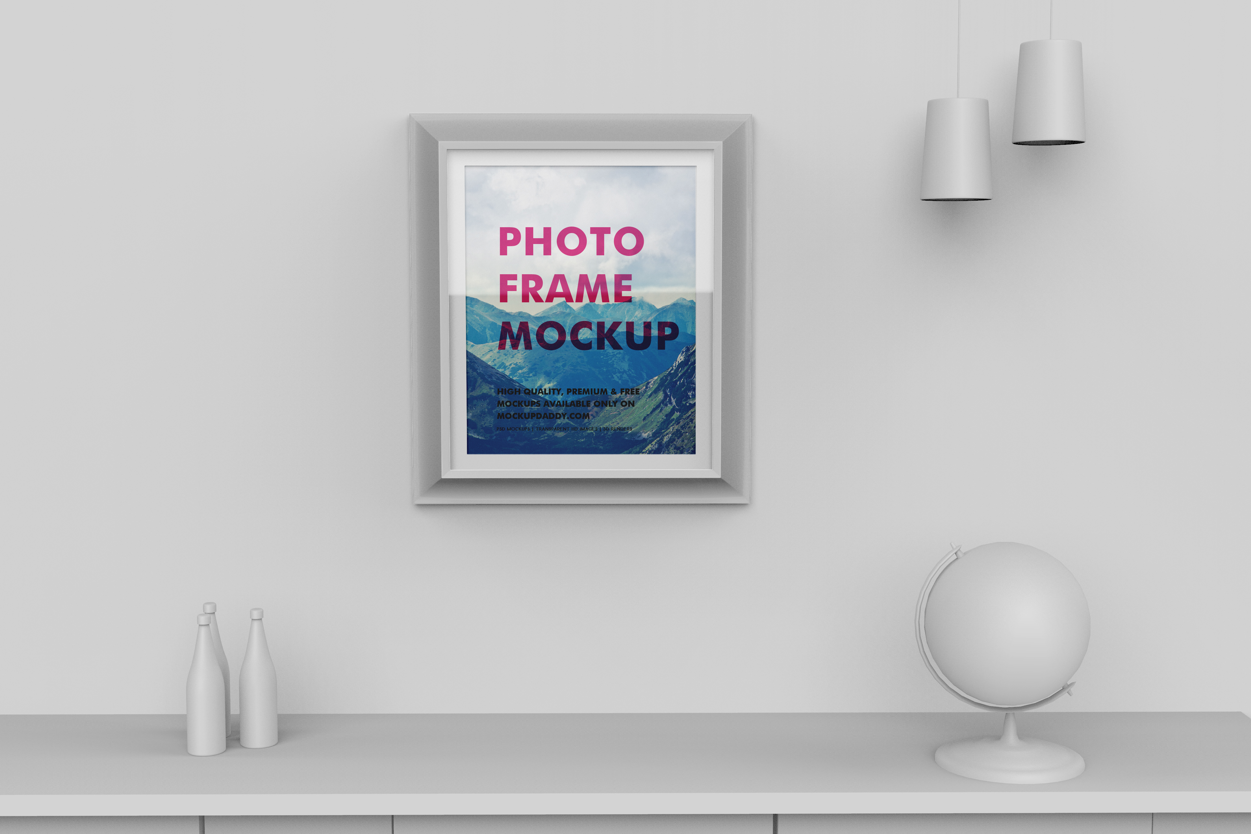 Photo Frame Mockup Free Download - Premium Branding Mockups