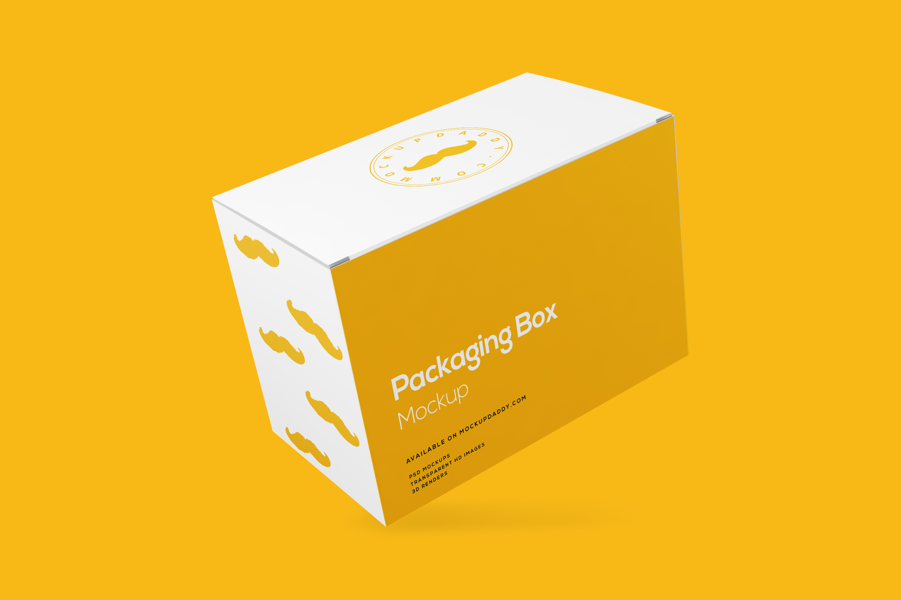 Rectangle Packaging Box Mockup Free Download Mockup Daddy