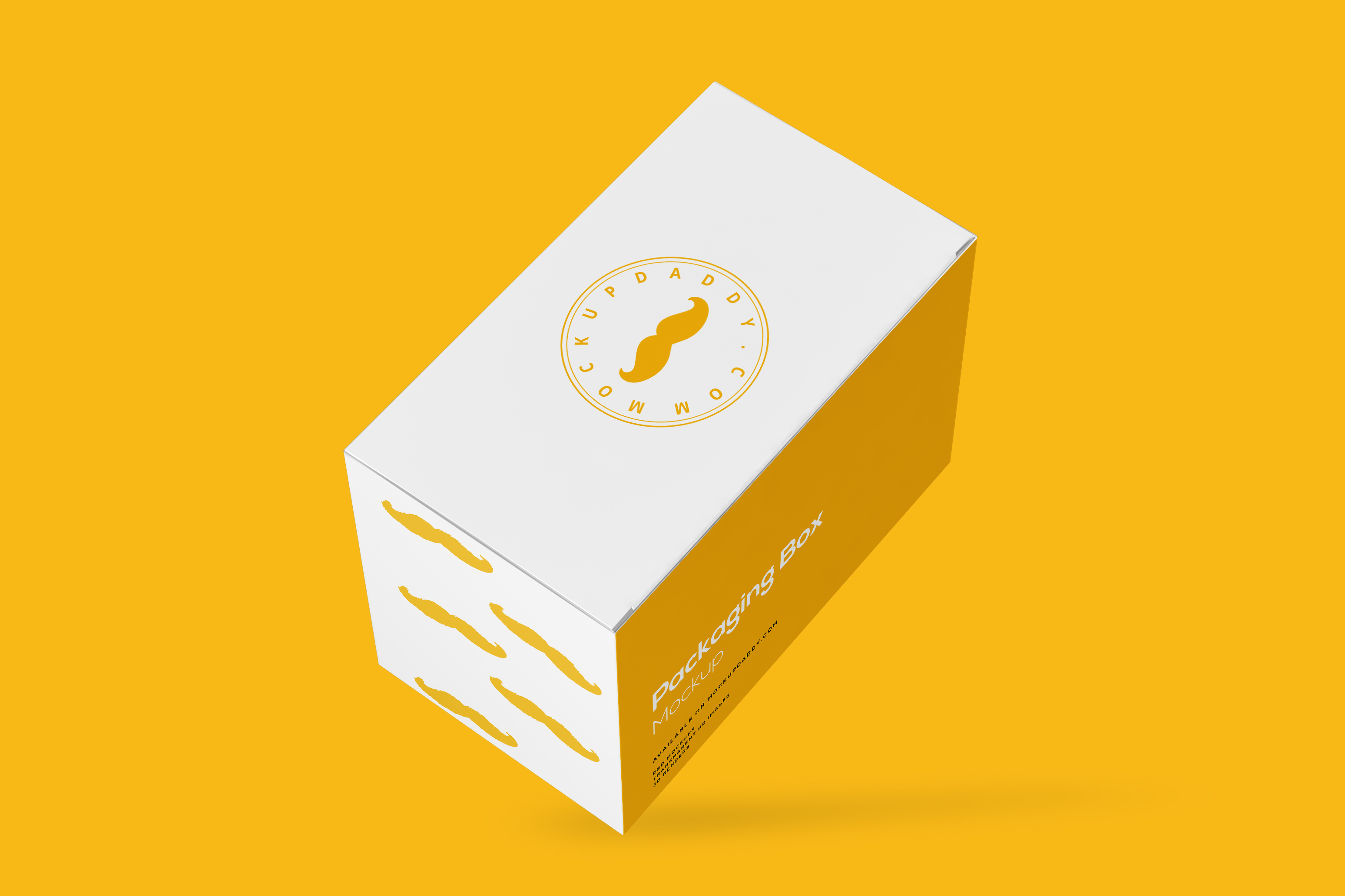 Rectangle Packaging Box Mockup Free Download 1