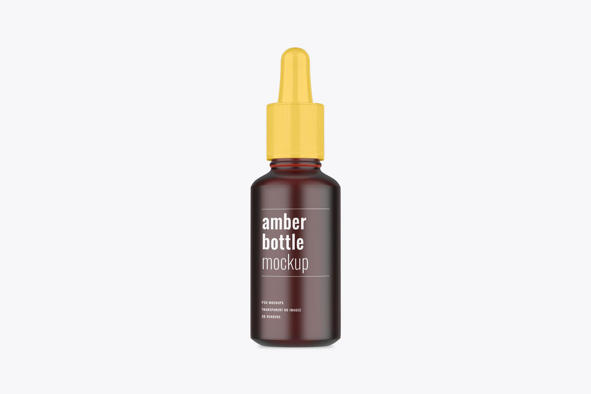 Dropper Bottle Psd Mockup - Mockup Daddy