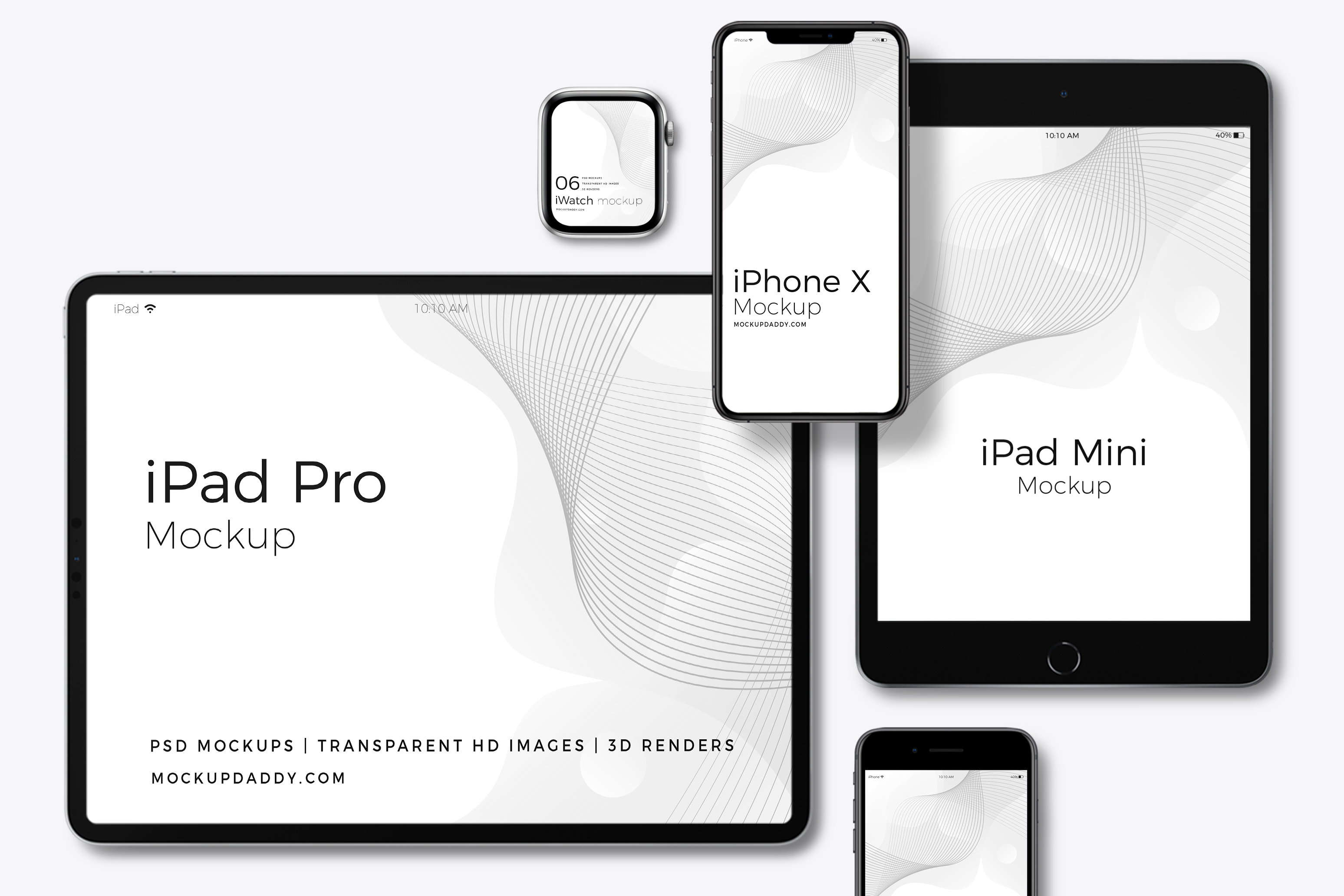 35 Latest Apple Devices Responsive Mockups Multi Devices Mockup