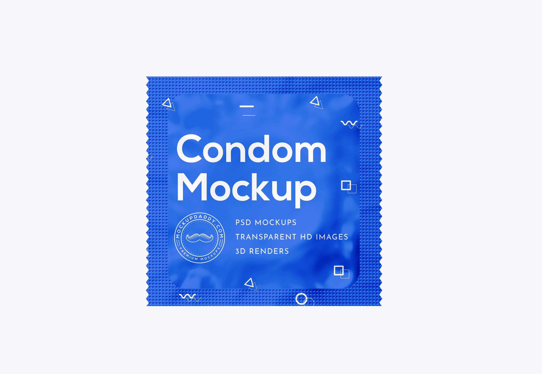 free condom sachet mockup mockup daddy free condom sachet mockup mockup daddy